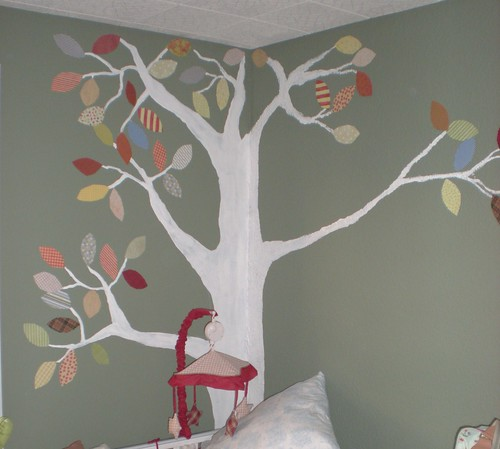 Tree Decoration in Grayson's Nursery | by innocentcharmer