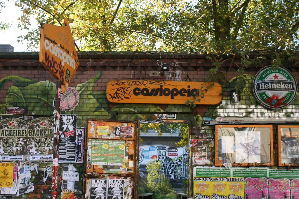 La Cassiopeia à Berlin : Salle de concerts et club à Freidrichshain.
