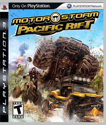 MotorStorm Pacific Rift cover art | by PlayStation.Blog