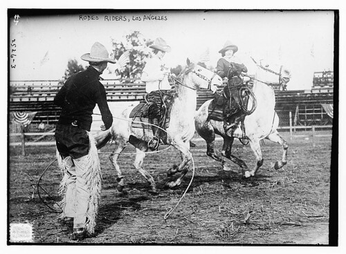 Rodeo Riders, L.A.  (LOC) | by The Library of Congress