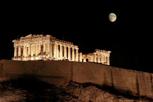Moon Over Acropolis | by AlexanderVisuals