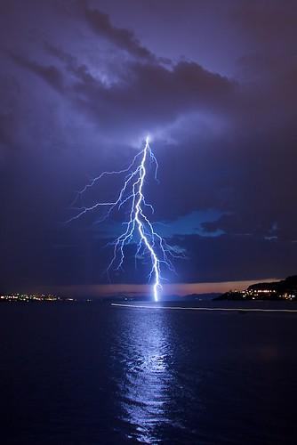 Thunderstorm over Bergen | by Sprengstoff72