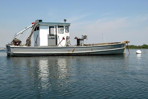 Fishing boat on long island sound city island bronx nyc for Fishing boats long island