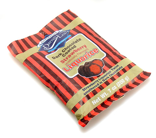 Darrell Lea Dark Chocolate Coated Strawberry Liquorice | by cybele-
