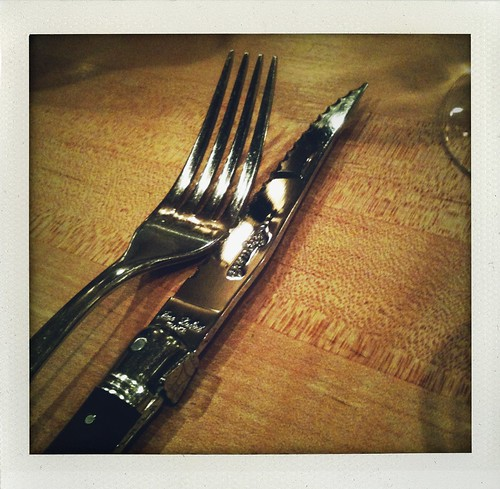 serious steak knife for the momofuku ssam rib eye | by jules:stonesoup