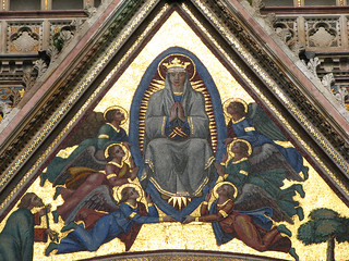 Orvieto - Cathedral Mary's Golden Mosaic | by *Checco*