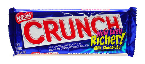 2008 Crunch Bar Wrapper (Now Even Richer!) | by cybele-