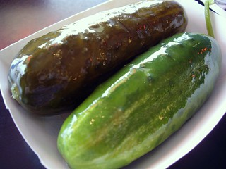 Dill and Garlic Pickle from Katzinger's | by swampkitty