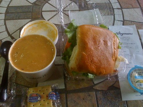 Lobster bisque wegmans lobster house for Fish sandwich near me