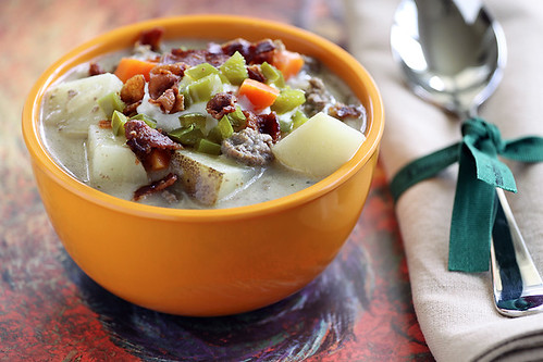 Bison Potato Soup with Bacon_3820 120 dpi vibrance | by TheCookingPhotographer