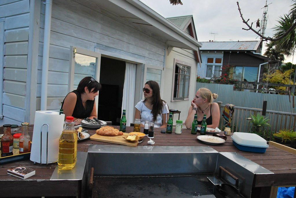 BBQ at Pauline's - Napier - New Zealand