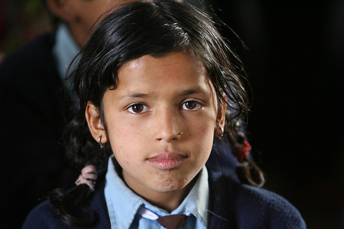 Girl at Shreeshitalacom Lower Secondary School. Kaski, Nepal. | by World Bank Photo Collection