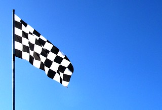 chequered flag | by tharrin