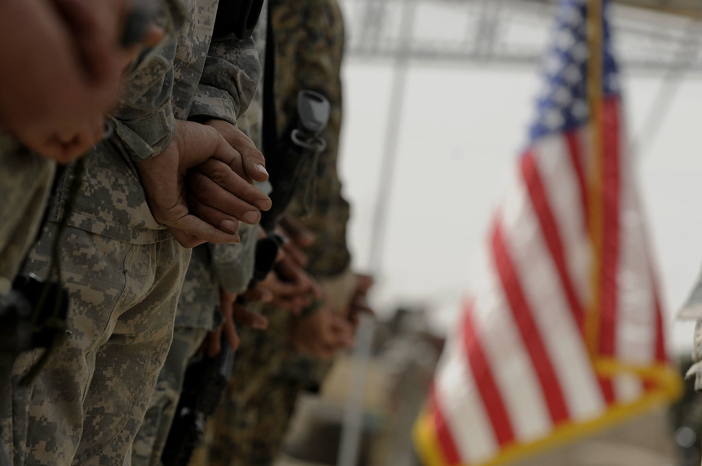 U.S. Soldier's Transfer Authority in Mosul