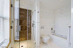 Vinegar Hill Town House Master Bath | by meshberg group