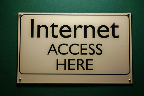 Internet Access Here Sign | by Steve Rhode