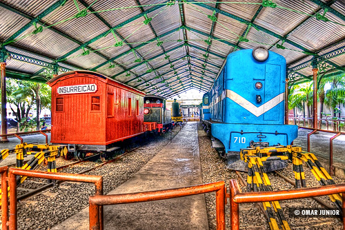 Museu do Trem do Recife | HDR | by Omar Junior