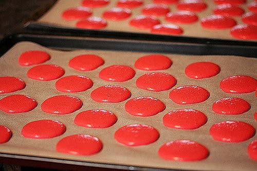 piped macarons | by David Lebovitz
