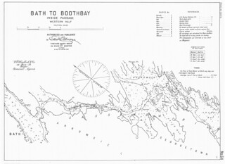Bath to boothbay inside passage western half maine - Barnes and noble pembroke gardens ...