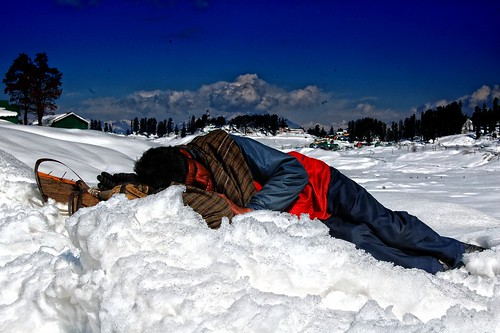 Sleep   | Gulmarg, Kashmir | by Rekha Bhatt