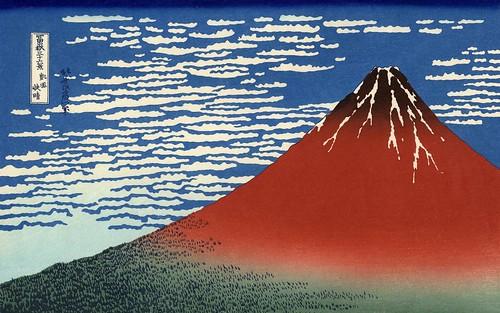 Painting mount fuji japan flickr photo sharing for Trodel mobel