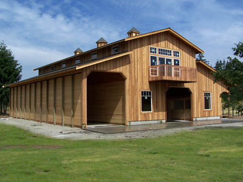 Yelm custom monitor custom monitor barn built in yelm for Monitor barn kit