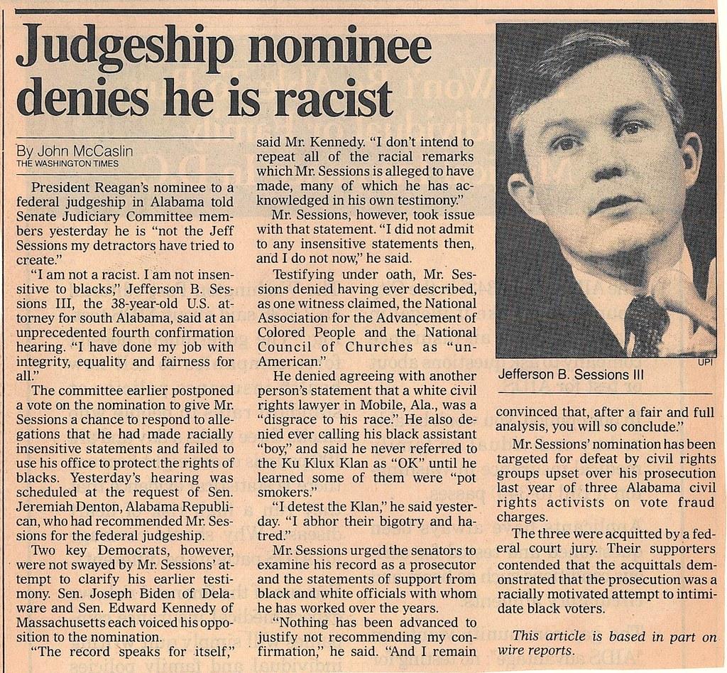 Washington Times 5-7-86