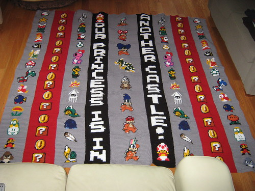 Mario Bros. Blanket | by doctormoo