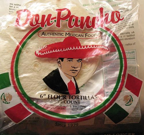 Mexican Foods Looks Like Burrito