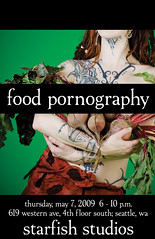 Food Pornography Poster | by exoskeletoncabaret