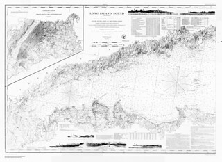 Long Island Sound (western sheet) / from a trigonometrical survey  under the direction of F.R. Hassler and A.D. Bache | by uconnlibrariesmagic