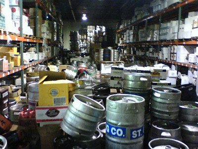 Chaos among the kegs