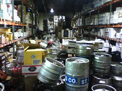 Chaos among the kegs