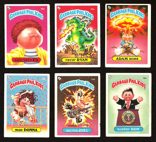 Garbage Pail Kids | by monkeymillions