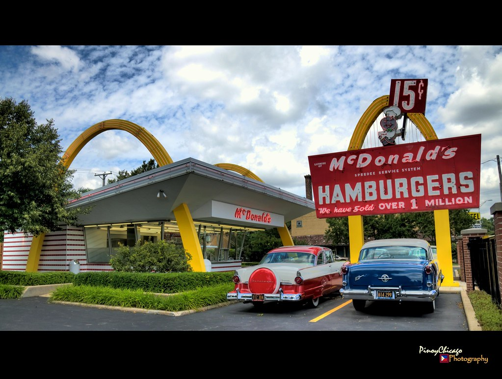 First McDonald's Restaurant in illinois