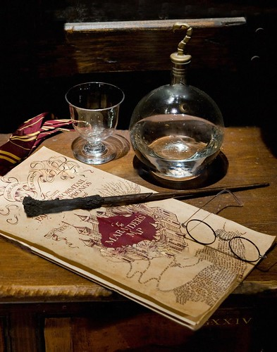 Harry Potter's Wand & Glasses, Marauders Map | by Discover Illinois