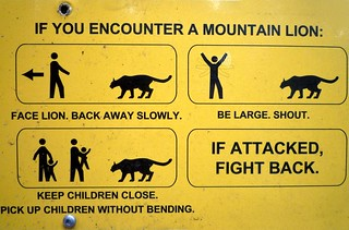 Stick Figures v Mountain Lion | by Ingrid Taylar