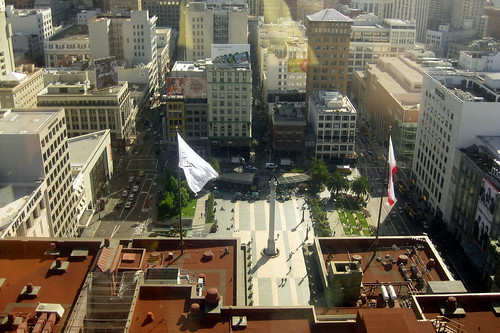 San Francisco: Union Square from St. Francis Hotel | by wallyg