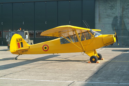 181544  / OO-VIW Piper L-18C-PI Super Cub ex- French Army in Belgian Army Colours