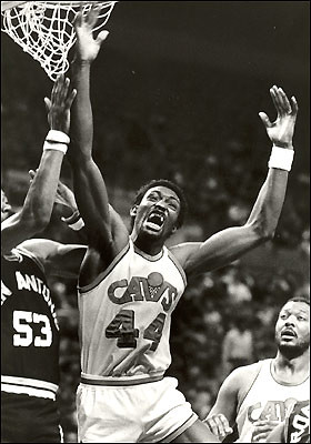Edgar Jones Rebounds 1985 | by Cavs History