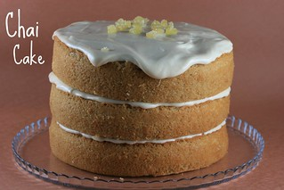 Food Librarian - Chai Cake with Honey Ginger Frosting | by Food Librarian