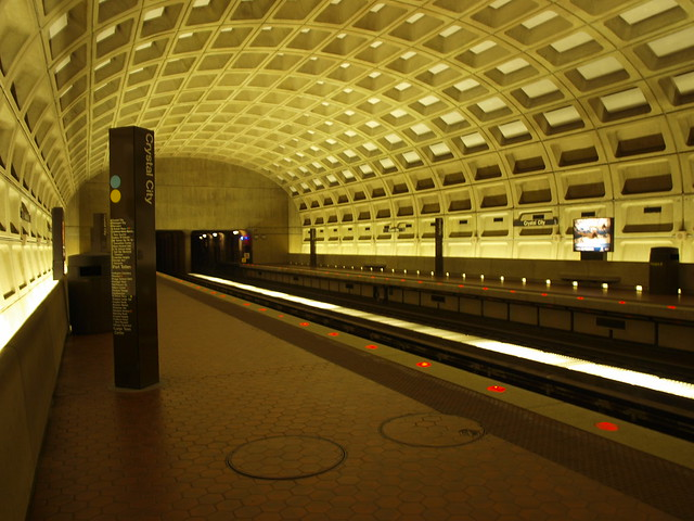 Crystal City Metro Station