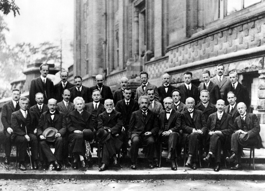 Solvay Conference 1927 (Public Domain)