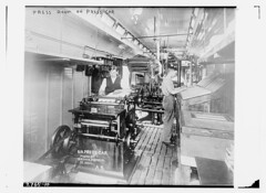 Press room on press car (LOC) | by The Library of Congress