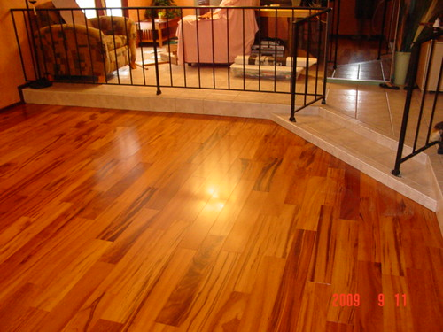 Hardwood floor tucson az top floor installation co for Tigerwood hardwood flooring