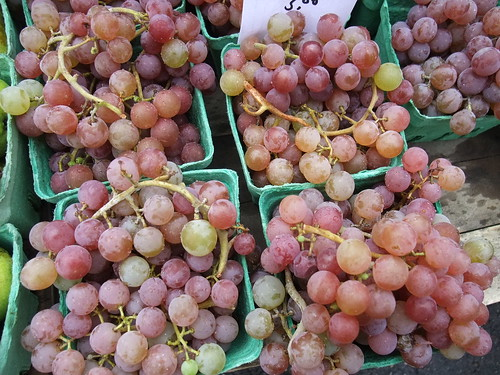 Grapes from the Athens Farmers Market 8/8/09 | by swampkitty