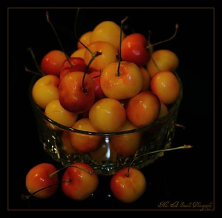 Pick a bowl of cherries ~ | by **Mary**