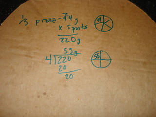 Pizza Math - Diabetes 365, Year 2 - Day 68 | by courtney.benefiel