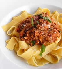 Papperdelle with Duck Ragu | by FotoosVanRobin