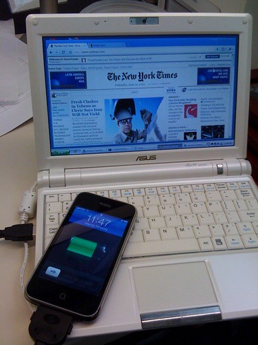 iPhone -> eee pc tether. | by paul_irish